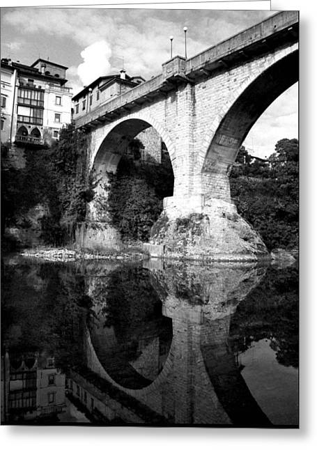 Devil's Bridge Greeting Card by Donna Corless