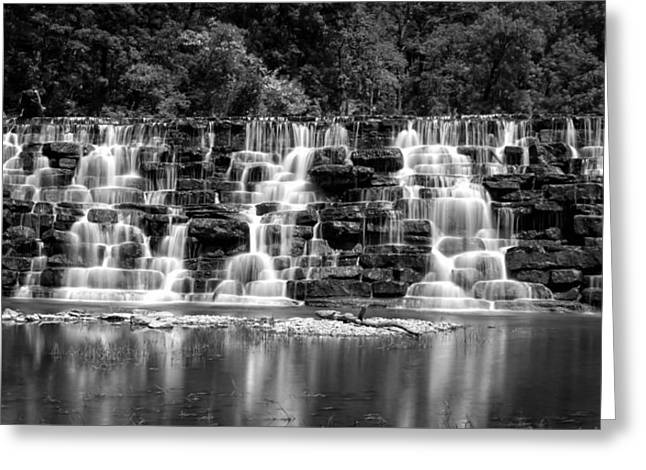 Devil's Den Cascade Greeting Card by James Barber
