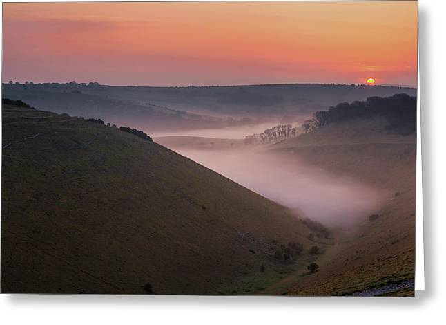 Devils Dyke Greeting Card