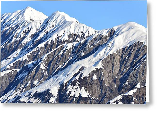 Devils Food With Frosting - Wrangall St. Elias Greeting Card