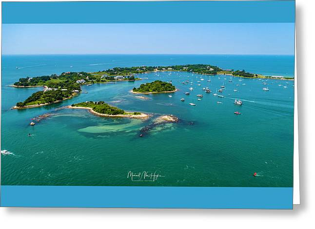 Devils Foot Island Greeting Card