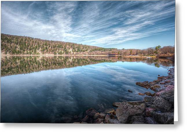 Devils Lake Greeting Card