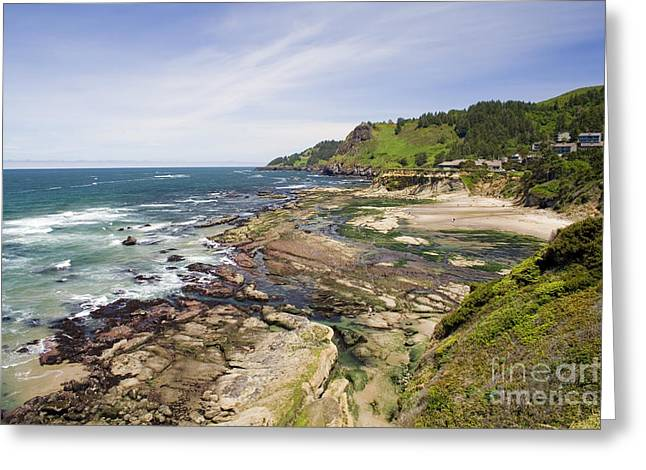 Devil's Punchbowl Greeting Card by Andrew Serff