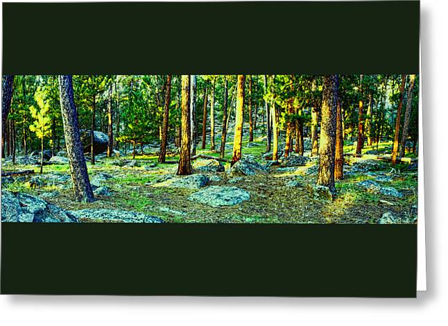 Devils Tower Morning Greeting Card by Dave Luebbert