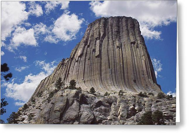 Devils Tower National Monument - Wyoming Greeting Card