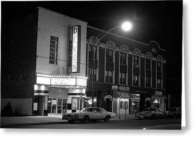 Devon Theatre, 1979 Greeting Card