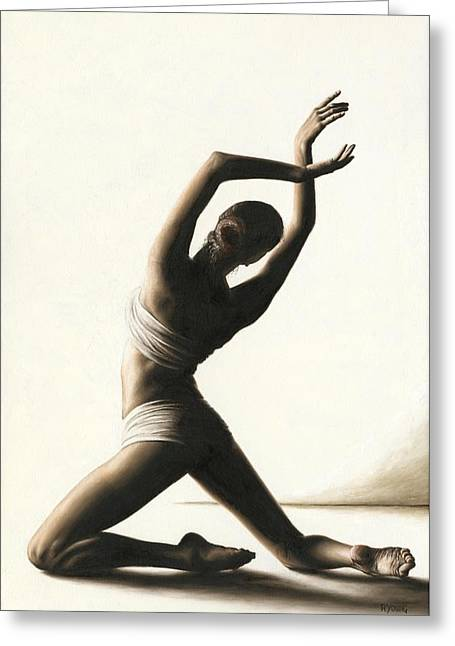 Devotion To Dance Greeting Card