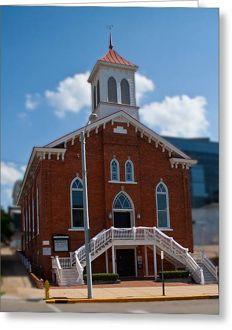 Dexter King Memorial Baptist Church Greeting Card by Arnold Hence