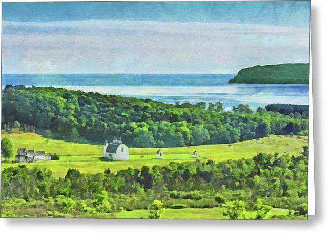 D. H. Day Farmstead At Sleeping Bear Dunes National Lakeshore Greeting Card