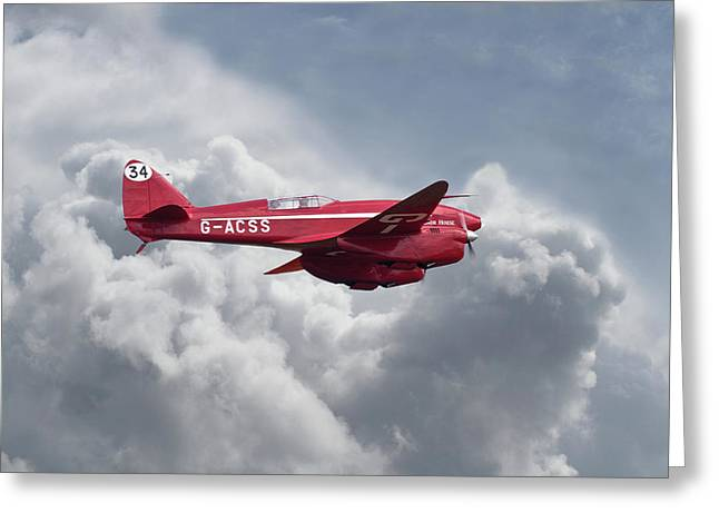 Dh88 - Comet Greeting Card