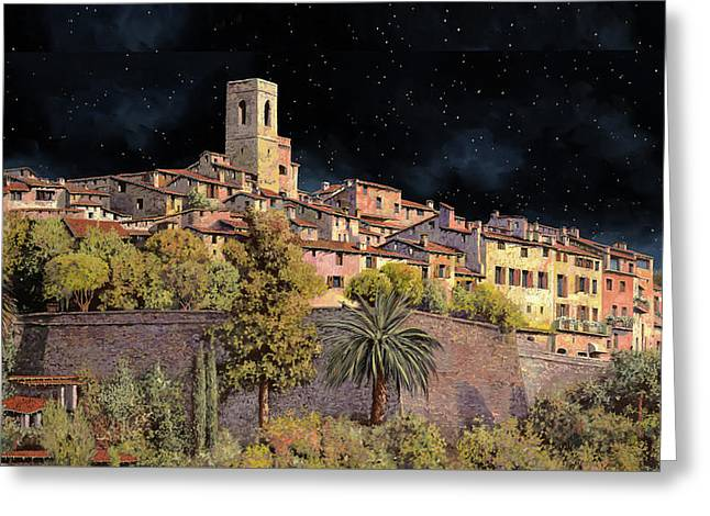 di notte a St Paul Greeting Card