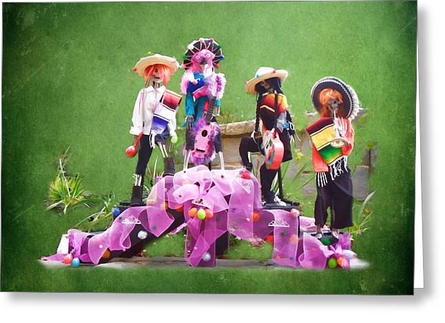 Dia De Los Muertos Celebracion Greeting Card