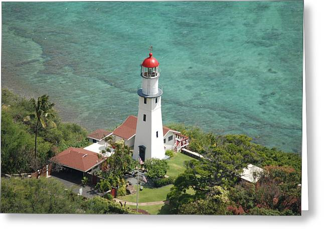 Diamond Head Lighthouse 2 Greeting Card