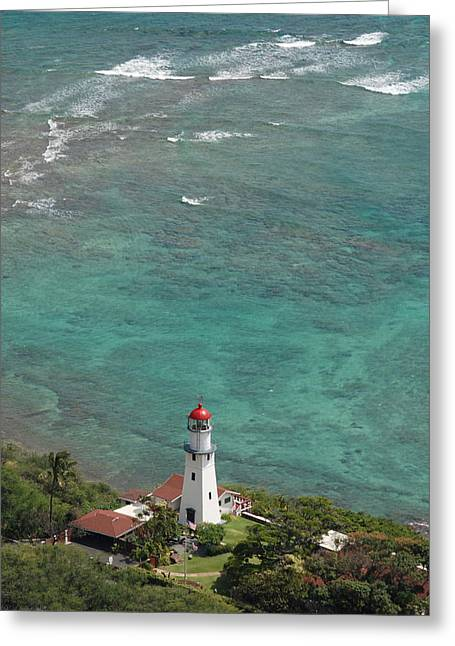 Diamond Head Lighthouse 3 Greeting Card