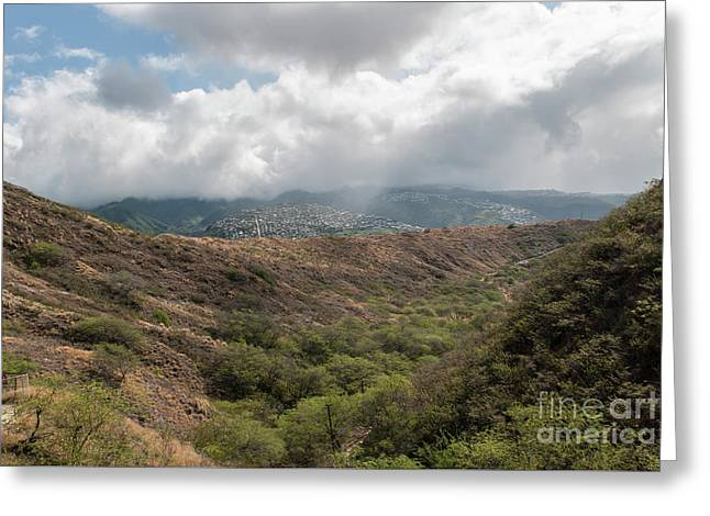 Diamond Head View Greeting Card