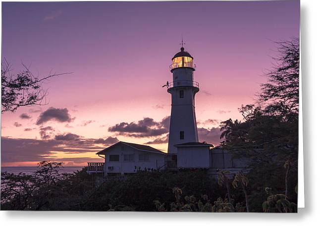 Diamondhead Lighthouse Greeting Card