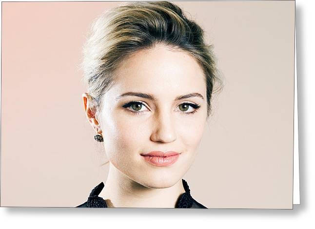 Dianna Agron 2016 Greeting Card by F S