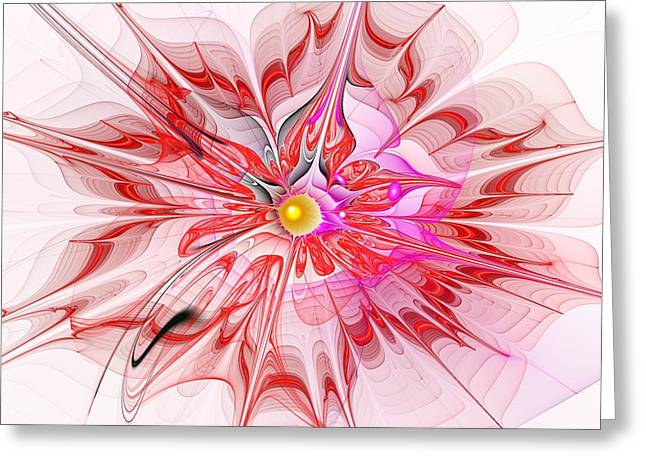 Diaphanous Dreams Greeting Card