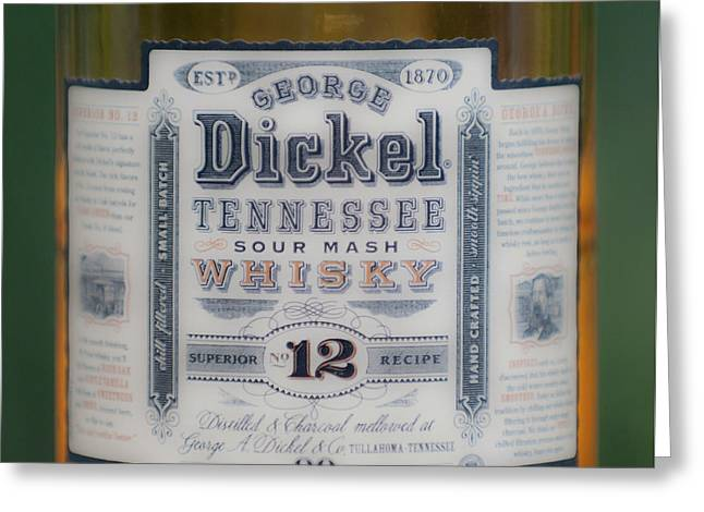 Dickel Greeting Card by Dale Powell