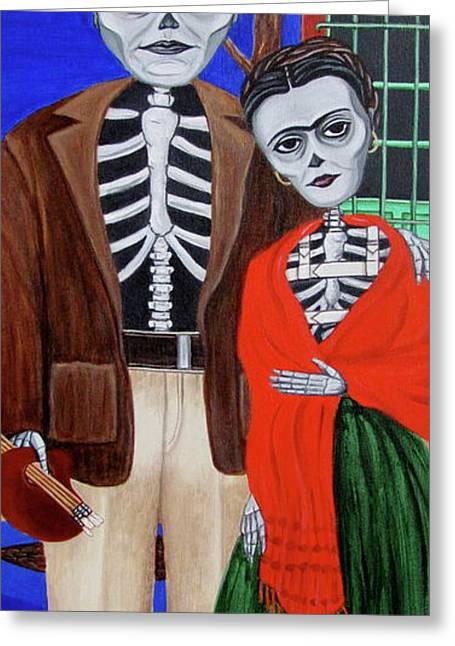 Diego Y Frida Greeting Card