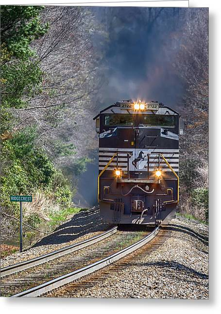 Diesel Engine Ns 2722 Greeting Card