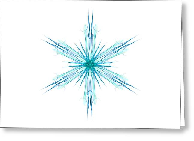 Digital Art 2 Greeting Card by Kevin O'Hare