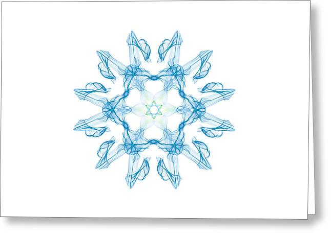 Digital Art 7 Greeting Card by Kevin O'Hare