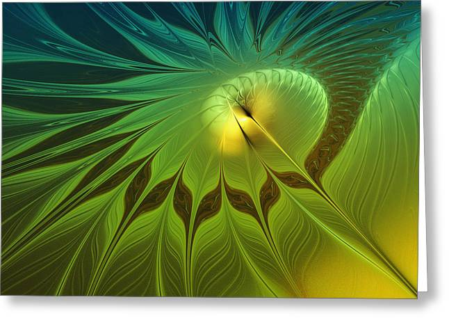 Digital Nature Greeting Card