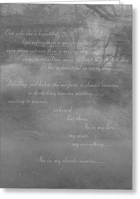 Digital Poem Greeting Card