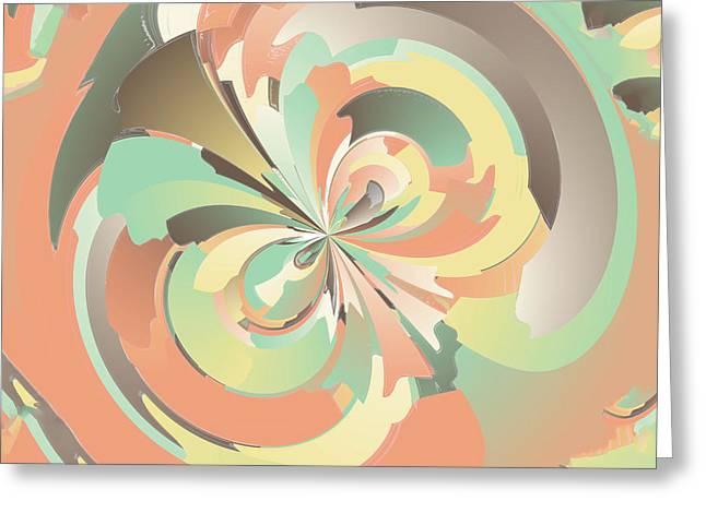 Digital Watercolor Greeting Card