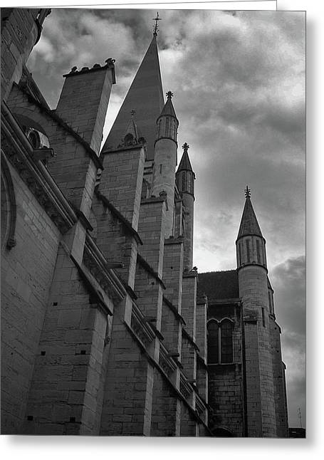 Dijon Spires Greeting Card