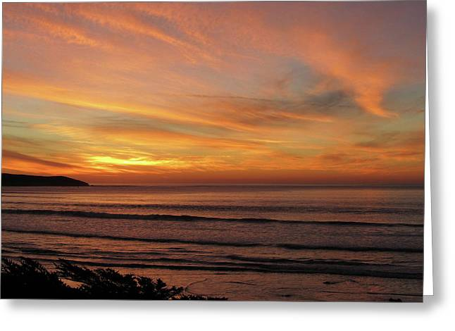 Dillon Beach Sky Greeting Card by Sierra Vance