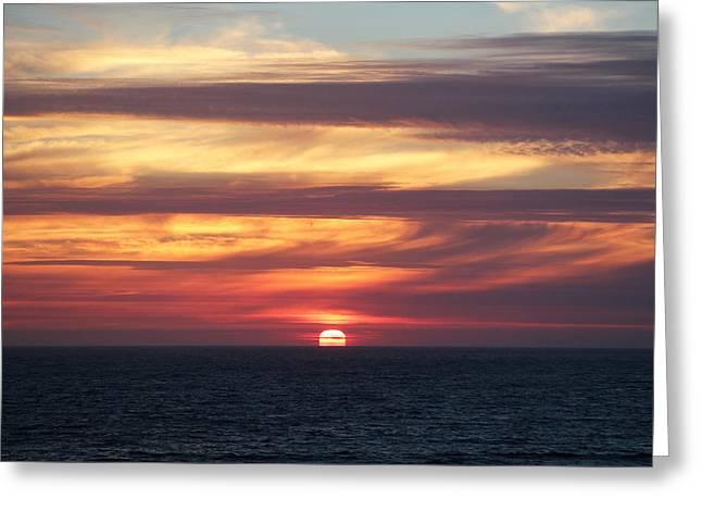 Dillon Beach Sunset Greeting Card