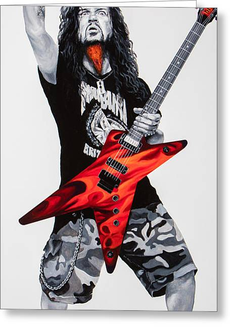 Dimebag Forever Greeting Card