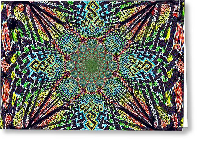 Dimensional Celtic Cross Greeting Card