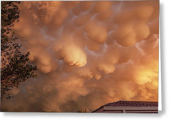 Dimmit Storm Mammatus Greeting Card