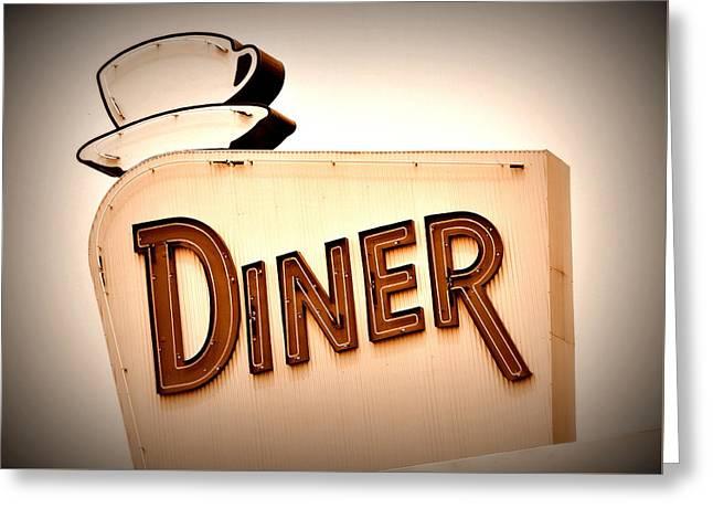 Diner Greeting Card