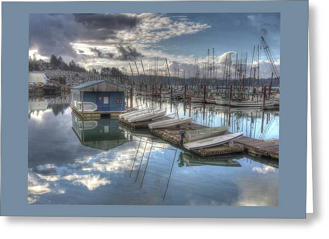 Dinghies For Rent Greeting Card