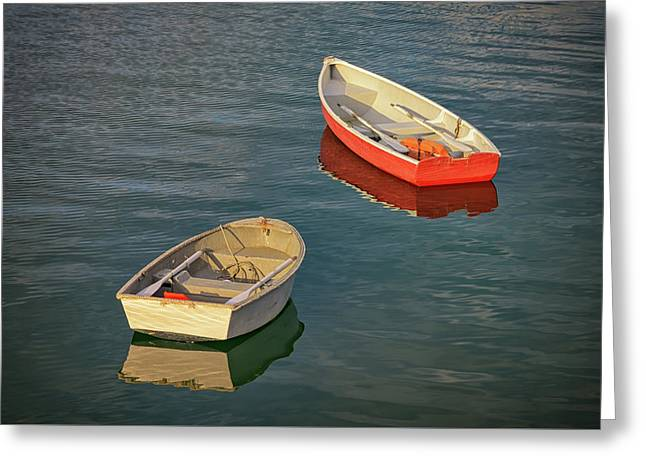 Dinghies Greeting Card
