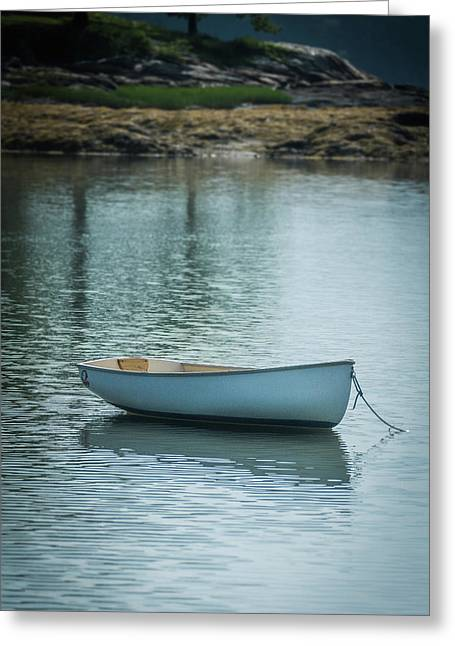 Greeting Card featuring the photograph Dinghy by Guy Whiteley