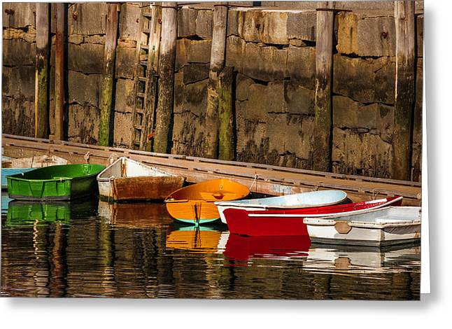 Dinghy Heaven Greeting Card