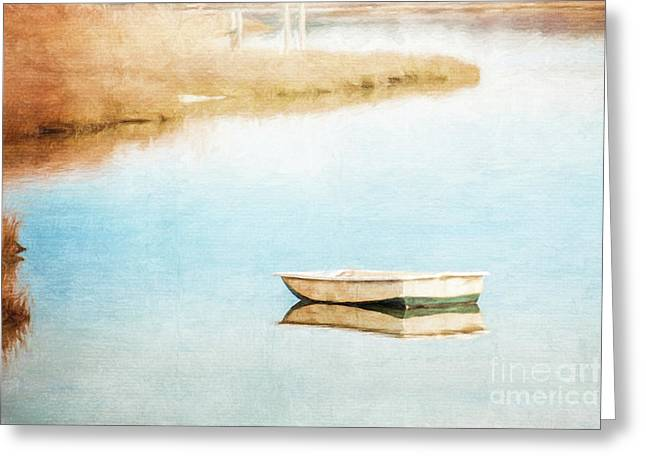 Dinghy In Eastham Greeting Card