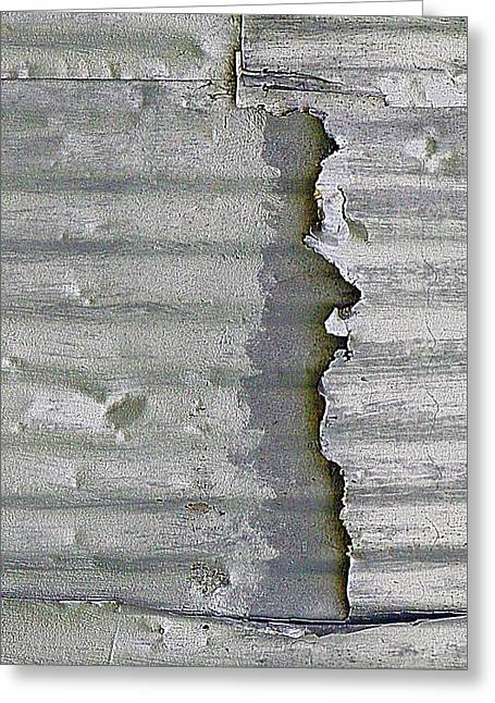 Dings, Dents And Deterioration Greeting Card by Claudia O'Brien