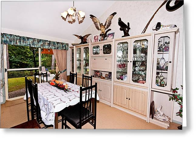 Dining Room Greeting Card