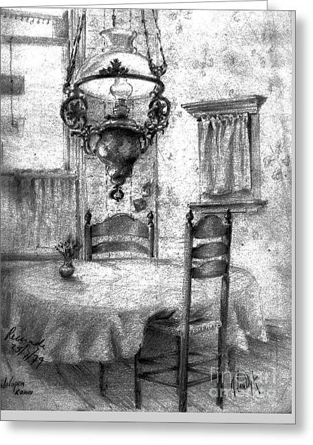Dining Room - New Orleans 2 Greeting Card