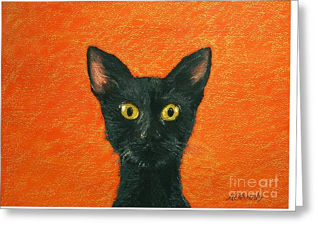 Dinner? Greeting Card by Marna Edwards Flavell