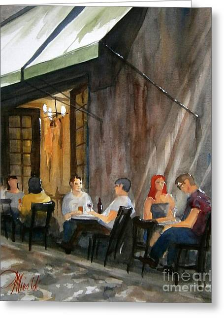 Dinning L'fresco Greeting Card