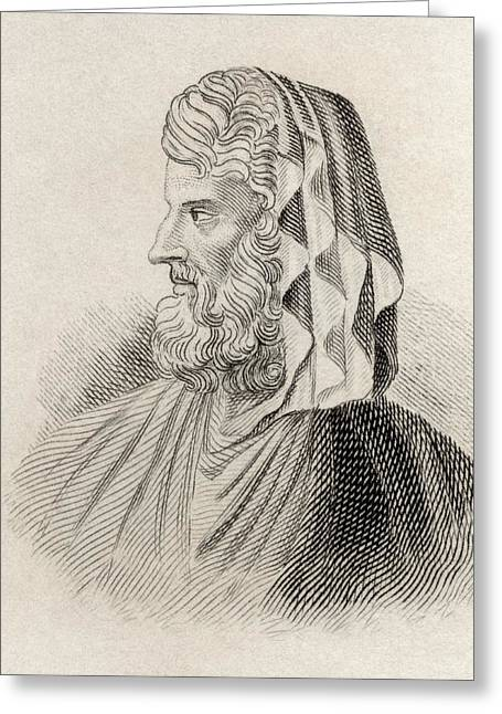 Dionysius The Renegade, Also Known As Greeting Card by Vintage Design Pics