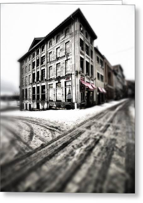..dirty Old Town.. Greeting Card by Russell Styles