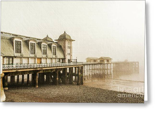 Disa Pier Ing Greeting Card by Steve Purnell